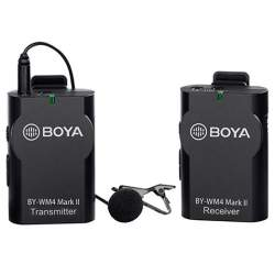 New products - Boya Microphone Wireless BY-WM4 Mark II for DSLR and Smartphone - buy today in store and with delivery