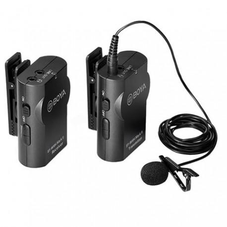 Mikrofoni - Boya Microphone Wireless BY-WM4 Pro K-1 for DSLR and Smartphone - perc šodien veikalā un ar piegādi