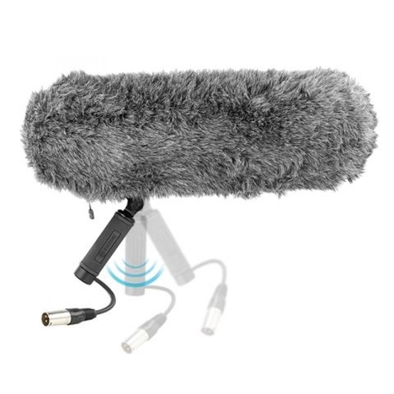 Boya Windshield With Anti Shock Microphone Mount By Ws1000