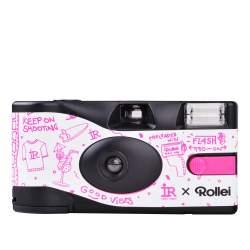 Filmu kameras - Rollei RPX 400 single use B&W camera - купить сегодня в магазине и с доставкой