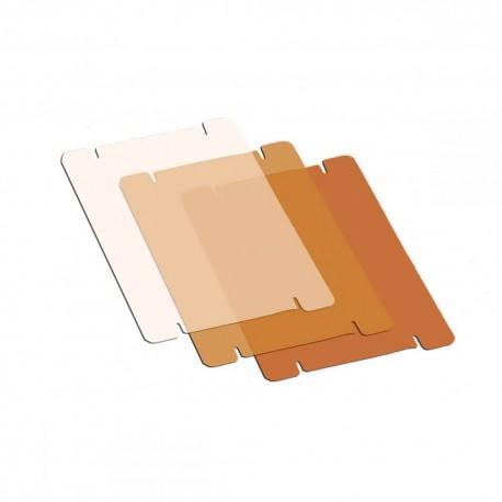 Рефлекторы - Litepanels MicroPro 3-Piece CTO Gel Set - быстрый заказ от производителя