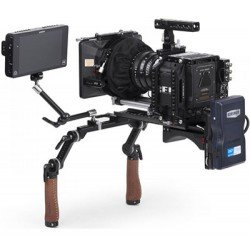 Shoulder Supports / Rigs - Wooden Camera Shoulder Rig v2 Mid, Brown, Leather (203700) - quick order from manufacturer