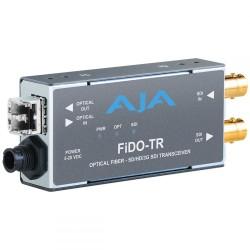 Converter Decoder Encoder - AJA FiDO-TR-MM 1-Channel 3G-SDI/LC Multi-Mode LC Fiber Transceiver - quick order from manufacturer