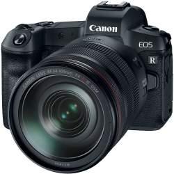 Bezspoguļa kameras - Canon EOS R ar RF 24-105mm IS USM Kit with adapter - ātri pasūtīt no ražotāja