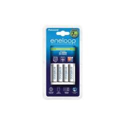 Baterijas, akumulatori un lādētāji - Panasonic ENELOOP BQ-CC17 Advanced Charger K-KJ17MCC40E (4xAA) - perc šodien veikalā un ar piegādi