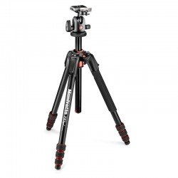 Photo tripods - Manfrotto tripod kit MK190GOA4TB-BH - quick order from manufacturer