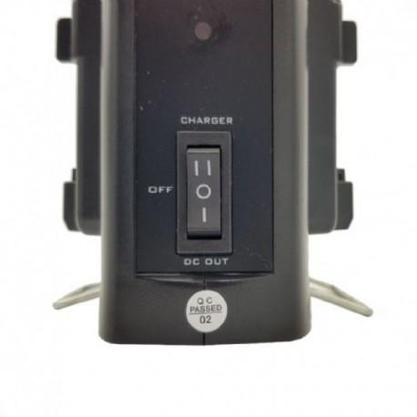 Aksesuāri - Rolux Dual Battery Charger RL-2KS for V-Mount Battery noma