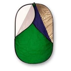 Saliekamie atstarotāji - Bresser-BR-TR2 7-in-1 100x150cm reflector - perc šodien veikalā un ar piegādi