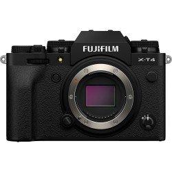 Bezspoguļa kameras - Fujifilm X-T4 black hybrid APS-C mirrorless camera X-Trans CMOS IBIS 4 X-Processor - perc šodien veikalā un ar piegādi