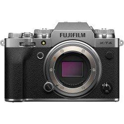Bezspoguļa kameras - Fujifilm X-T4 silver hybrid APS-C mirrorless camera X-Trans CMOS IBIS 4 X-Processor - perc šodien veikalā un ar piegādi