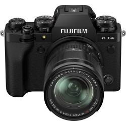 Беззеркальные камеры - Fujifilm X-T4 XF18-55mm Kit black hybrid APS-C mirrorless camera X-Trans CMOS - купить сегодня в магазине и с доставкой
