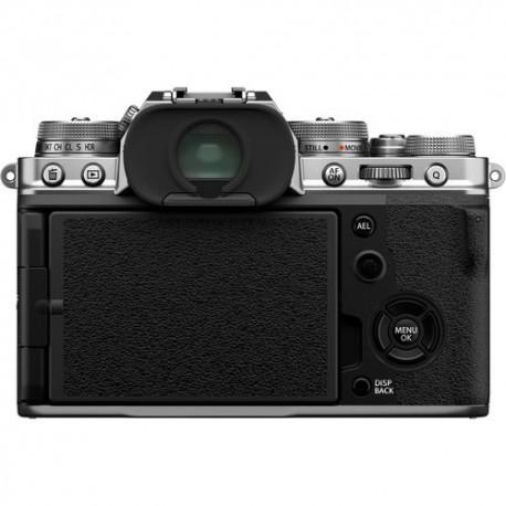 Bezspoguļa kameras - Fujifilm X-T4 XF18-55mm Kit silver hybrid APS-C mirrorless camera X-Trans CMOS IBIS 4 X-Processor - perc šodien veikalā un ar piegādi