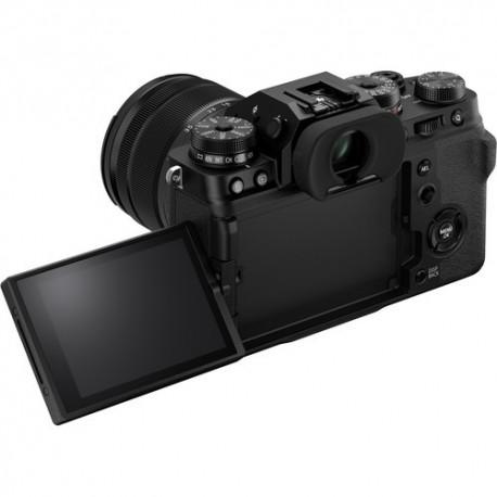 Bezspoguļa kameras - Fujifilm X-T4 XF16-80mm Kit Black hybrid APS-C mirrorless camera X-Trans CMOS IBIS 4 X-Processor - perc šodien veikalā un ar piegādi