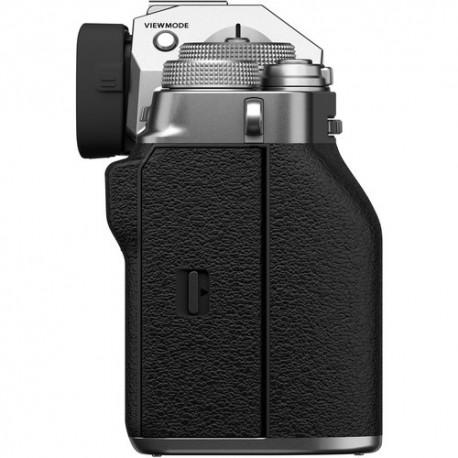 Bezspoguļa kameras - Fujifilm X-T4 XF16-80mm Kit silver hybrid APS-C mirrorless camera X-Trans CMOS IBIS 4 X-Processor - perc šodien veikalā un ar piegādi