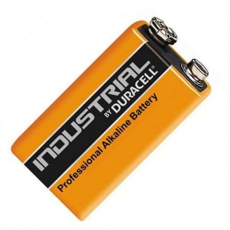 Pirkstiņu baterijas zibspuldzēm - Duracell Industrial 9V krona baterija 6LR61 6LF22 MN1604 Alkaline 1 gab. - perc šodien veikalā un ar piegādi