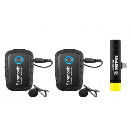 Viedtālruņiem - Saramonic BLINK 500 B4 (TX+TX+RX DI) 2 TO 1 - 2,4 - perc šodien veikalā un ar piegādi