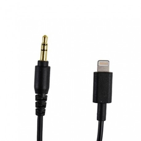 Mikrofonu aksesuāri - Boya adapter BY-K1 3.5mm TRS - Lightning - perc šodien veikalā un ar piegādi