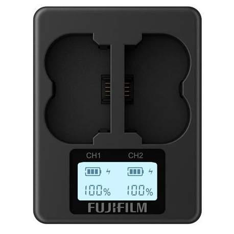 Kameras bateriju lādētāji - Fujifilm BC-W235 Dual Battery Charger for NP-W235 for X-T4 new - perc šodien veikalā un ar piegādi