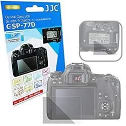 Kameru aizsargi - JJC Glass Protector for Canon EOS 77D, 9000D - купить сегодня в магазине и с доставкой