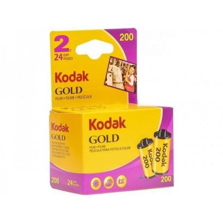 Foto filmiņas - KODAK 135 GOLD 200-24X2 CARDED - perc šodien veikalā un ar piegādi