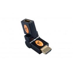 Kabeļi - Tether Tools TetherPro HDMI (Type A) Male to (Type A) Female Swivel Adapter - perc šodien veikalā un ar piegādi