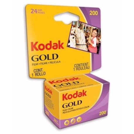 Photo films - KODAK 135 GOLD 200-24X1 CARDED - buy today in store and with delivery
