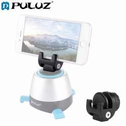 Viedtālruņiem - Puluz Uniwersal Smartphone mount on tripod with angle head PU371 - perc šodien veikalā un ar piegādi