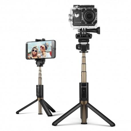 Viedtālruņu statīvi - Selfie Stick tripod 3in1 BlitzWolf BW-BS3 sport black - perc šodien veikalā un ar piegādi
