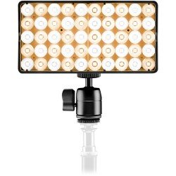 On-camera LED light - Lupo SMARTPANEL dual color - buy today in store and with delivery