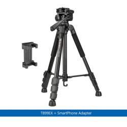 Viedtālruņu statīvi - Benro T899EX foto statīvs ar telefona adapteri - ātri pasūtīt no ražotāja