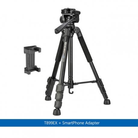 Штативы для телефона - Benro T899EX photo tripod with smartphone adapter holder - купить сегодня в магазине и с доставкой