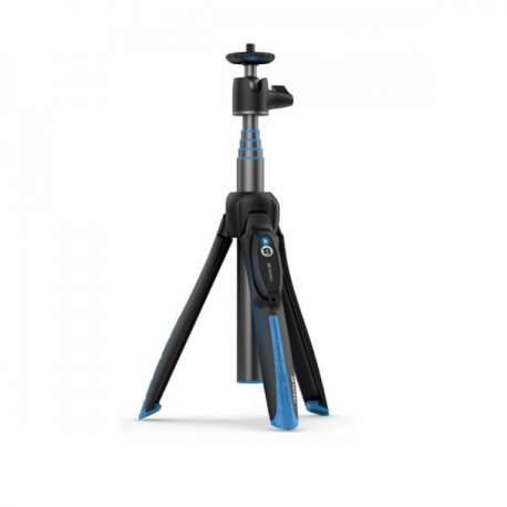 Mini foto statīvi - Mini Statīvs Selfie smartfoniem ar bluetooth pulti Benro BK15 - perc šodien veikalā un ar piegādi