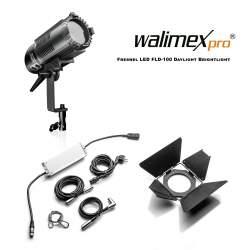 Fresnels Lights - Walimex pro Fresnel LED FLD-100 Daylight Brightlight 100W - quick order from manufacturer