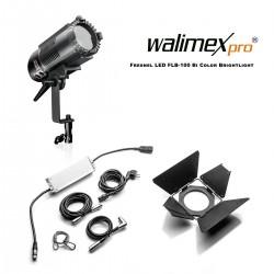 Fresnels Lights - Walimex pro Fresnel LED FLB-100 Bi Color Brightlight - quick order from manufacturer
