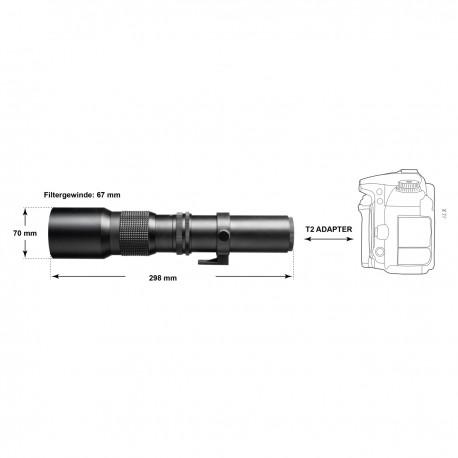 Объективы - Walimex pro 500/8,0 DSLR Nikon Z - быстрый заказ от производителя