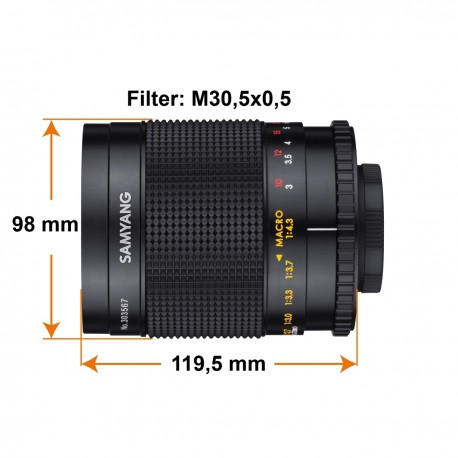 Lenses - Walimex Samyang MF 500mm F8,0 Mirror Nikon Z - quick order from manufacturer