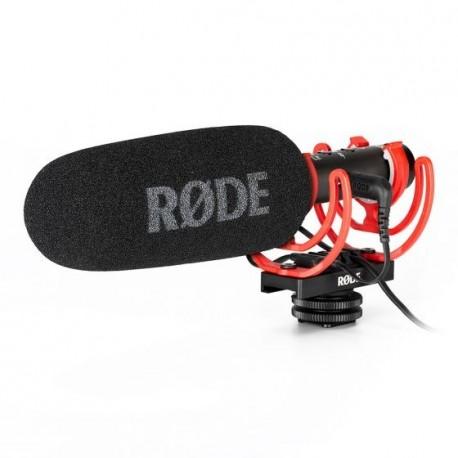 Mikrofoni - Rode microphone VideoMic NTG Rycote Lyre 3.5mm charges via USB-C - perc šodien veikalā un ar piegādi