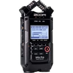Mikrofoni - ZOOM H4n Pro Black 4-Input / 4-Track Portable Handy Recorder with Onboard X/ - купить сегодня в магазине и с доставкой