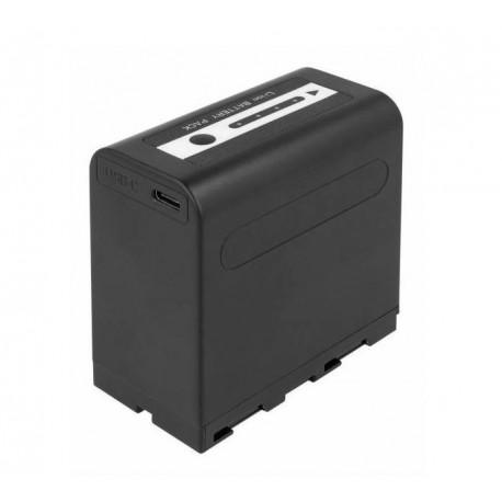 Pirkstiņu baterijas zibspuldzēm - Newell NP-F970 USB micro battery - perc šodien veikalā un ar piegādi