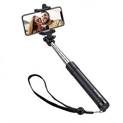 Viedtālruņiem - Selfie Stick BlitzWolf BW-BS2 Bluetooth black - perc šodien veikalā un ar piegādi