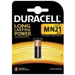Batteries and chargers - Duracell battery A23/MN21 12V/1B Code: 147434 EAN: 5000394011212 - buy today in store and with delivery