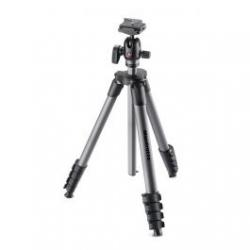 Photo tripods - Manfrotto tripod MKCOMPACTADV-BH, black - quick order from manufacturer