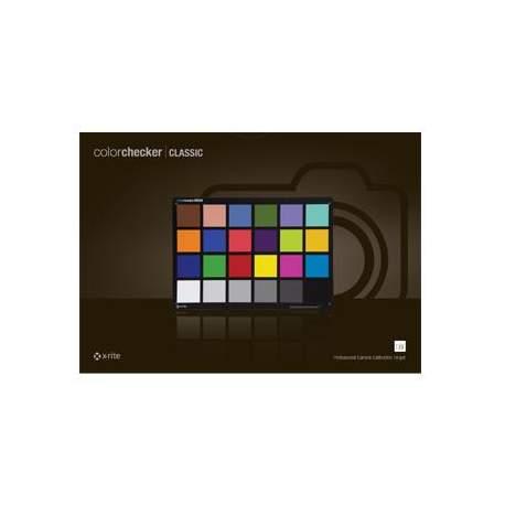 Balansa kartes - X-Rite ColorChecker Chart Classic MSCCC - perc šodien veikalā un ar piegādi