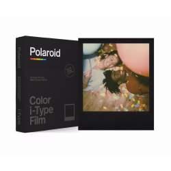 Instantkameru filmiņas - POLAROID COLOR FILM I-TYPE BLACK FRAME EDITION - perc šodien veikalā un ar piegādi