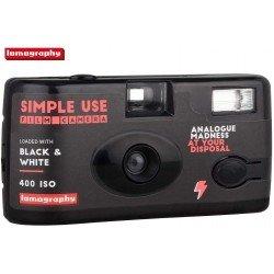 Фото плёнки - Lomography Simple Use Film Camera Black and White 400 35mm 36 exposures - купить сегодня в магазине и с доставкой