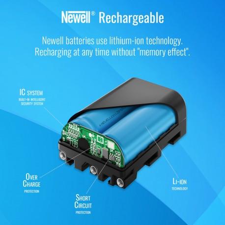Kameru akumulatori - Newell NP-F980U USB micro battery - ātri pasūtīt no ražotāja
