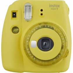 Instant cameras - Fujifilm Instax Mini 9, clear yellow 16632960 - quick order from manufacturer