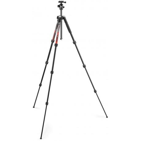 Foto statīvi - Manfrotto statīva komplekts Element MII MKELMII4RD-BH, sarkans MKELMII4RD-BH - ātri pasūtīt no ražotāja