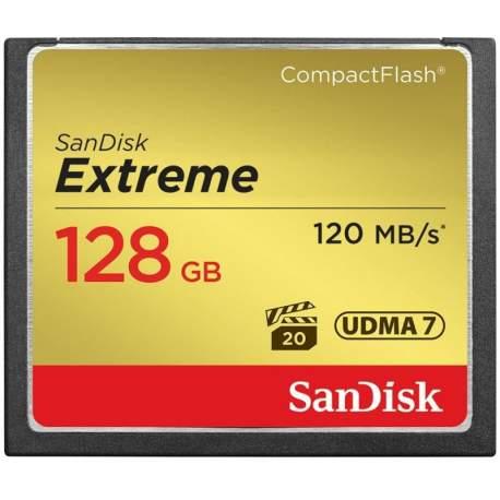 Карты памяти - SanDisk memory card CF 128GB Extreme 120MB/s SDCFXSB-128G-G46 - быстрый заказ от производителя