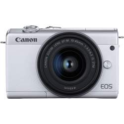 Mirrorless cameras - Canon EOS M200 + EF-M 15-45mm IS STM, white 3700C010 - quick order from manufacturer